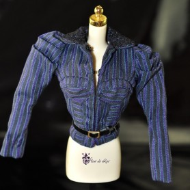 VESTE + CEINTURE KYORI CRIMINALLY CHIC FASHION ROYALTY BARBIE SILKSTONE