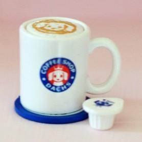 TASSE MUG DE CAFÉ MINIATURE BARBIE FASHION ROYALTY SYBARITE PHICEN ACTION FIGURE BLYTHE PULLIP DIORAMAS 1/6
