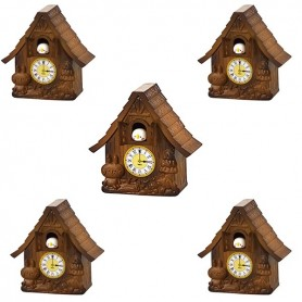 HORLOGE COUCOU CUISINE MINIATURE LATI YELLOW BARBIE FASHION ROYALTY SYBARITE TONNER BLYTHE PULLIP DIORAMAS DOLLHOUSE
