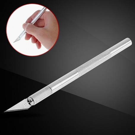 DIY CARVING KNIFE CUTTER 9 BLADES PAPER LEATHER FABRIC PVC BLYTHE PULLIP