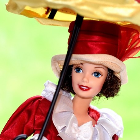 BARBIE DOLL COLLECTOR MARY POPPINS COMPLETE VINTAGE AND RARE