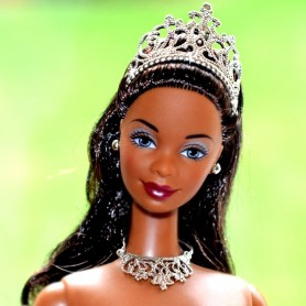 BARBIE AA AFRO AMERICAN RARE MISS OR PRINCESSE NUDE FOR OOAK