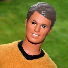 BARBIE  KEN STAR TREK DOLL HOMME FOR OOAK