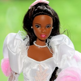 BARBIE AA AFRO AMERICAN WEDDING RARE COLLECTOR