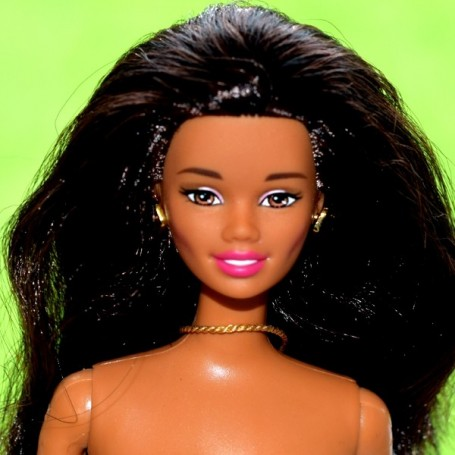 BARBIE COLLECTOR AA AFRO AMERICAINE RARE NUE POUR OOAK