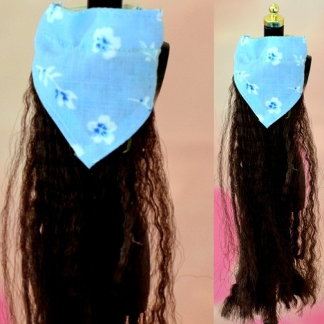 INTEGRITY TOYS DOLL BANDANA HAT AND HAIR EXTENSION BARBIE FASHION ROYALTY SILKSTONE