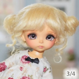 WIG LUNA BJD LATI WHITE LATIDOLL PUKIPUKI FAIRYLAND DOLLZONE MOMO BARBIE FASHION ROYALTY 4""