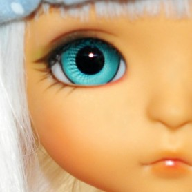 YEUX EN VERRE MEISTER GLASS EYES 8 mm TURQUOISE POUPÉE BJD BALL JOINTED DOLL IPLEHOUSE YOSD