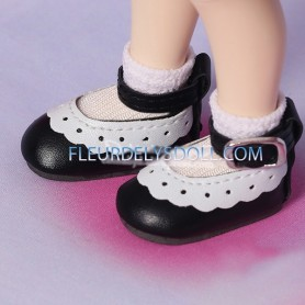 BLACK NICE SHOES FOR LD DOLLS LITTLE DARLING DIANNA EFFNER YOSD AND OTHER BJD SHOES DOLLS