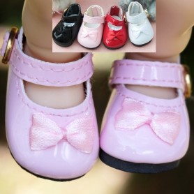 CHAUSSURES MARY JANE SHOES CUIR POUR POUPEE BJD DOLL MEADOWDOLLS DUMPLING PATTI TELLA GIGI BAILEY 3.8 X 2 CM DOLL SHOES