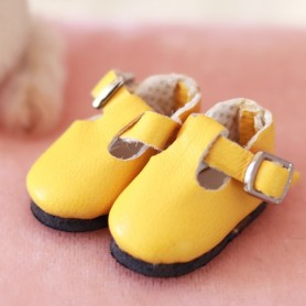 DRESSY ANKLE STRAP SHOES FOR BJD DOLL MEADOWDOLLS TWINKLES LATI YELLOW PUKIFEE AND OTHER SMALL DOLLS