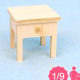 TABLE CHEVET MINIATURE POUPÉE BJD LATI YELLOW PUKIFEE MIDDIE BLYTHE MYMEADOW DOLL MAISON POUPÉES DIORAMA DOLLHOUSE 1/9