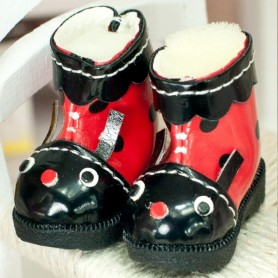 BOTTES BOTTINES FUN 25/12 MM CHAUSSURES POUR POUPEES BJD BLYTHE PURE NEEMO LICCA LATI YELLOW PUKIFEE BARBIE MOMOKO...