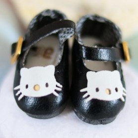 HELLO KITTY BLUE PINK WHITE OR BLACK HAND MADE SHOES FOR LATI YELLOW  BLYTHE & NEO BLYTHE PURE NEEMO AZONE PULLIP DOLL