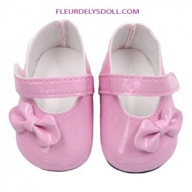 "DOLL SHOES 7.2 X 3.6 CM FOR DOLLS BJD MY MEADOW SAFFI BAILEY 18"" AMERICAN GIRL GOTZ DOLLS ETC..."