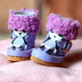 BOTTES UGG FUNNY BOOTS 25/12 MM CHAUSSURES POUR POUPEES BJD BLYTHE PURE NEEMO LICCA LATI YELLOW PUKIFEE BARBIE MOMOKO...