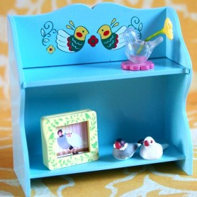 KITCHEN SHELVES DISPLAY FOR BARBIE BLYTHE PULLIP MYMEADOWS GIGI  LATI YELLOW PUKIFEE BJD DIORAMA DOLLHOUSE 1/6