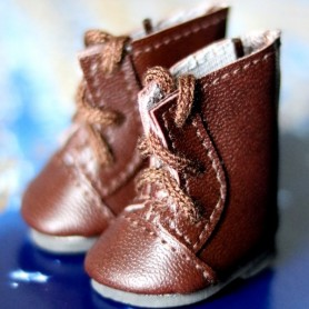 LOVELY BOOTS SHOES FOR BJD MY MEADOWS DOLLS GIGI PATTI BAILEY TELLA ...3.8 X 2 CM AND DOLLS WITH SIMILAR FOOT SIZE