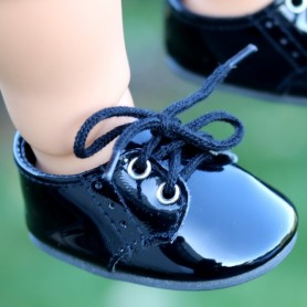 "CHAUSSURES BOYS & GIRLS 7 X 3.5 CM POUR POUPEES 18"" BJD MY MEADOW MEADOWDOLL 18"" SAFFI BAILEY GOTZ AMERICAN GIRL ETC..."