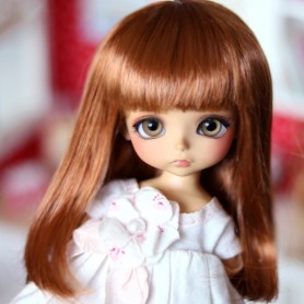 DOLL WIG RAINBOW FOX RED BJD STODOLL OB11 LATI YELLOW PUKIFEE BJD MY MEADOWS CHARA NAVI DOLLZONE LANKUI 5/6