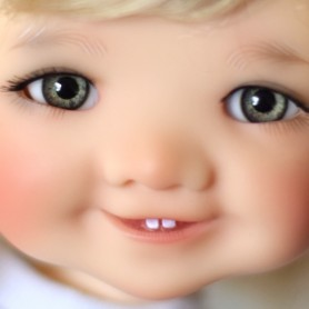 YEUX EN VERRE OVAL REAL VERT GREEN 10 mm GLASS EYES POUR POUPÉE BJD BALL JOINTED DOLL LATI YELLOW IPLEHOUSE ...