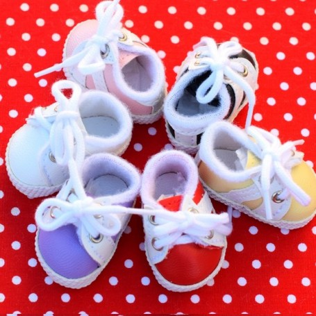 SNEAKERS SPORTY SHOES TENNIS 38 X 2 CM BJD DOLL MEADOWDOLLS DUMPLING DOLLS
