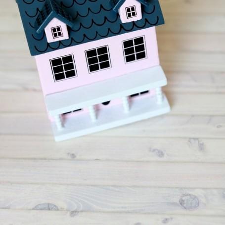 Maison de poupées miniatures fleurs PANIERS x 2 échelle 1:12