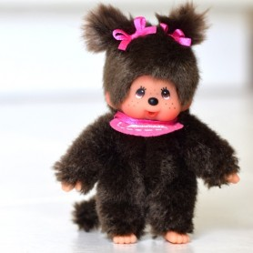 ADORABLE MINI KIKI MONCHHICHI PELUCHE 11 CM MINIATURE MY MEADOWS BJD BLYTHE PULLIP DOLLHOUSE