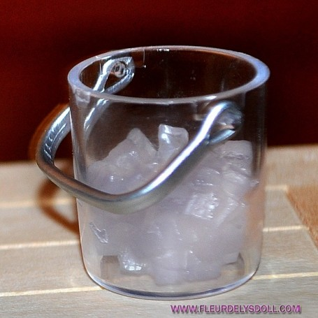ICE BUCKET + ICE DOLL MINIATURE DOLL BARBIE KEN PHICEN BLYTHE PULLIP FASHION ROYALTY ACTION FIGURE DIORAMA DOLLHOUSE 1/6