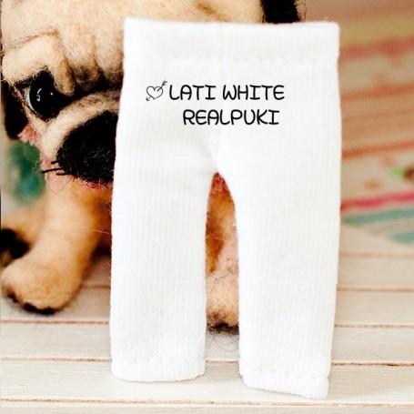 LEGGINGS BLANC 2 TAILLES POUR BJD LATI WHITE & WHITE SP PUKIPUKI OBITSU 11 CM DOLLS
