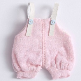 LIGHT PINK OVERALL OUTFIT FOR OB11 STODOLL LATI WHITE SP PUKIPUKI OBITSU DOLLS