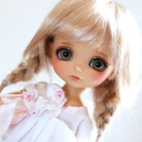 TESSIE MOHAIR WIG FOR LATI YELLOW PUKIFEE STODOLL OB11 TWINLES MY MEADOWS DOLL BJD 5/6