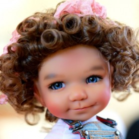 BAILEY SUNKISSED RESIN BJD DOLL DUMPLING MEADOWDOLLS SOLD OUT