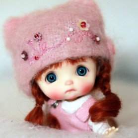 POUPÉE STODOLL DOLL BEBE EGGY ROSE EXCLUSIVE DOLL CORPS YMY TAILLE OB11 DDF
