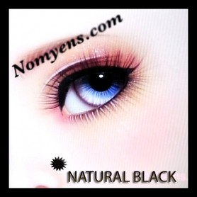 NOMYENS EYELASHES NATURAL BLACK FOR BJD DOLL BJD BALL JOINTED DOLL LATI YELLOW PUKIFEE YOSD LITTLEFEE MINIFEE SD...