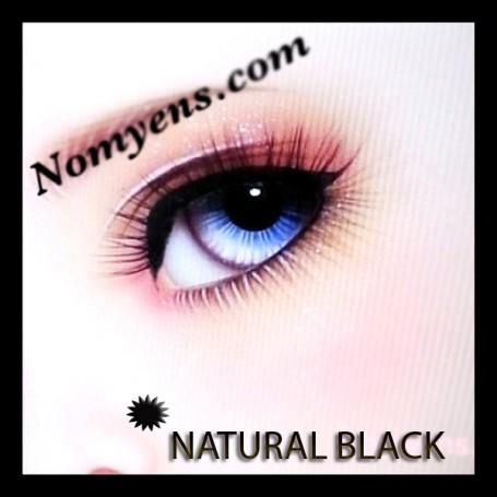 CILS NATUREL NOIR BLACK NOMYENS POUPEE BJD DOLL EYELASHES LATI YELLOW PUKIFEE YOSD LITTLEFEE MINIFEE