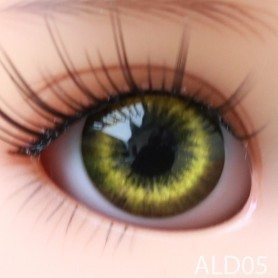 YEUX GLIB VERT DARK GREEN LD05 REALISTIC EYES POUPÉE BJD BALL JOINTED DOLL IPLEHOUSE 14 mm