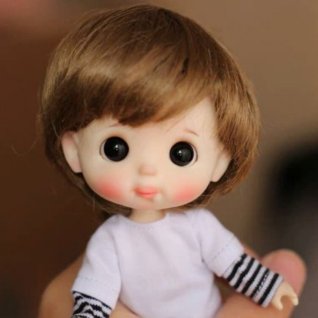 STODOLL BABY DOLL ANN BOY OR GIRL ORIGINAL EXCLUSIVE DOLL WITH A YMY OR DDF BODY OB11 AMYDOLL SIZE