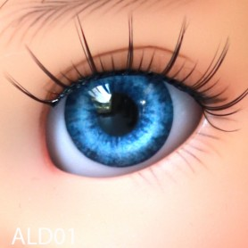 YEUX GLIB OCEAN BLUE 6LD01 RÉALISTES EYES POUR POUPÉE BJD BALL JOINTED DOLL LATI WHITE PUKIPUKI  IPLEHOUSE DOLLS