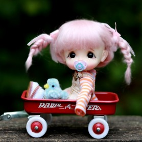POUPEE STODOLL DOLL BEBE EGGY LILI ORIGINAL EXCLUSIVE DOLL OB11 CORPS YMY OU DDF TAILLE OB11 & AMYDOLL
