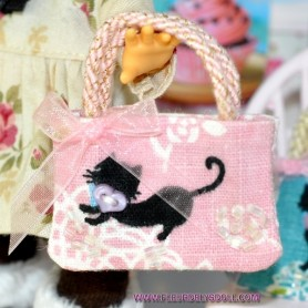 LOVELY CAT OOAK BAG LATI YELLOW PUKIFEE BJD BARBIE FASHION ROYALTY
