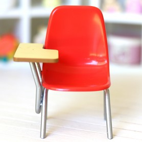 MINIATURE SCHOOL CHAIR RE-MENT REMENT BJD BABY DOLL STODOLL OB11 LATI WITHE SP PUKIPUKI DIORAMA DOLLHOUSE