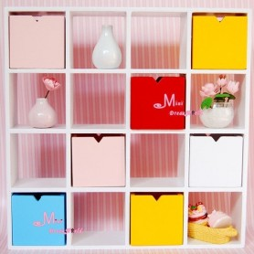 IKEA DISPLAY SHELVES MINIATURE DOLLHOUSE DIORAMA BJD STODOLL BLYTHE BARBIE PUKIFEE LATI YELLOW FURNITURE