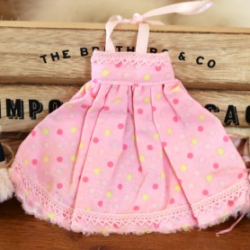 PINK GIRLY DRESS HAND MADE DRESS BLYTHE PURE NEEMO OBITSU LICCA CUSTOM BLYTHE BODIES