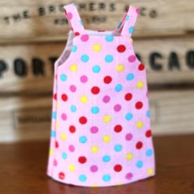 PINK DOTS HAND MADE DRESS BLYTHE PURE NEEMO OBITSU LICCA CUSTOM BLYTHE BODIES