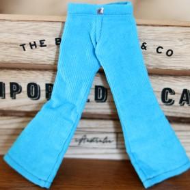 MIEMA DOLLHOUSE HOT BLUE PANTS HAND MADE OUTFIT FOR BLYTHE PURE NEEMO OBITSU LICCA CUSTOM BLYTHE BODIES