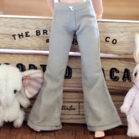 BEIGE MIEMA DOLLHOUSE NAVY BLUE PANTS HAND MADE OUTFIT FOR BLYTHE PURE NEEMO OBITSU LICCA CUSTOM BLYTHE BODIES
