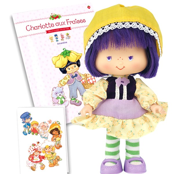 Strawberry Shortcake Scented Doll 14cm new /& box Charlotte Fraises figurine