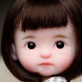 FLEUR DE LOTUS OOAK CUSTOM OB11 DOLL BY VIVIEN BAO DOLL ARTIST