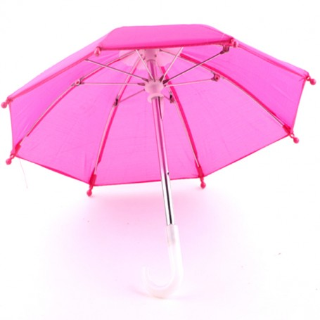 """DOLL UMBRELLA FOR BJD 15"""" 18"""" AMERICAN GIRL AND OTHER DOLLS"""